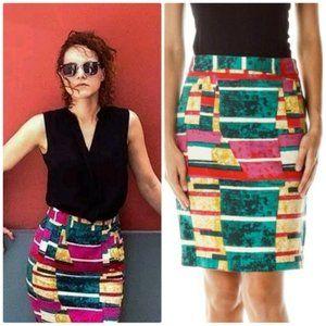 Anthropologie Dolce Vita Sorbet Print Skirt, 12